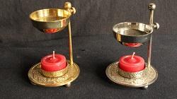Räuchergefäße für Kerzen