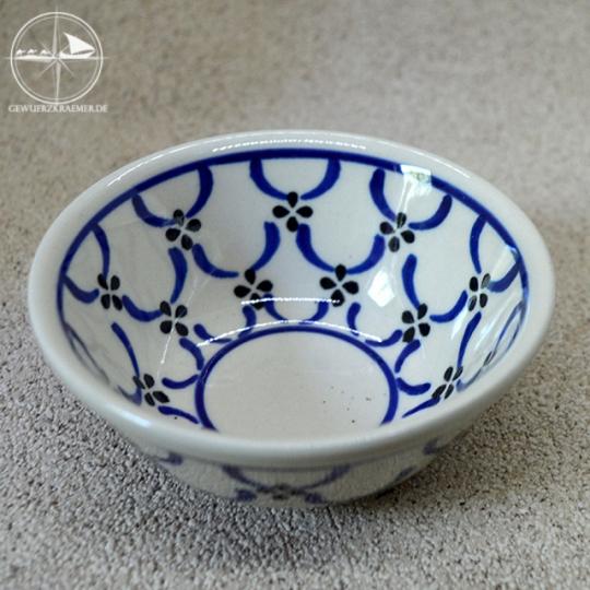 Rasierseifen - Schale aus Keramik, floral