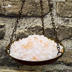 Kristallsalz, rötlich, Granulat 2-5mm