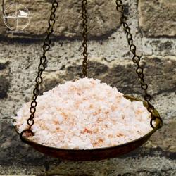 knusprige Kristallsalz - Flocken, rosa