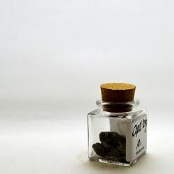 Copal negro, Stücke