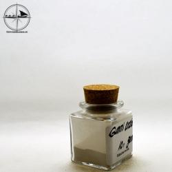 Gummi arabicum, gemahlen