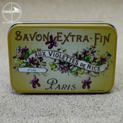 Seifendose Violettes de Nice