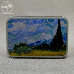 Seifendose Van Gogh Weizenfeld mit Zypressen