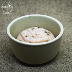Rasierseifen - Schale aus Keramik, uni