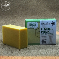 Kamelmilch-Haarseife Arganöl & Kräutern