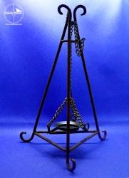 Räucher-Tripole für Kerzenbetrieb