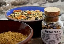 Hypokras, gemahlen, für exquisite Leckereien